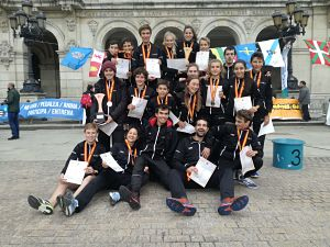 Podis dels joves catalans al Campionat d'Espanya Escolar