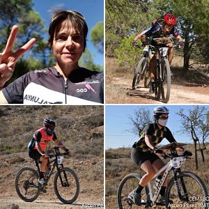 Excel•lents resultats de la orientació catalana al Campionat d'Espanya de MTBO