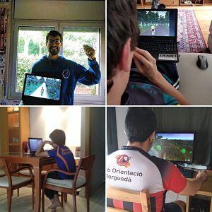 Campionat d'Espanya d'e-orientació 2020