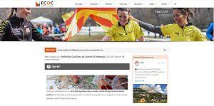 La Federació de Curses d'Orientació de Catalunya estrena pàgina web