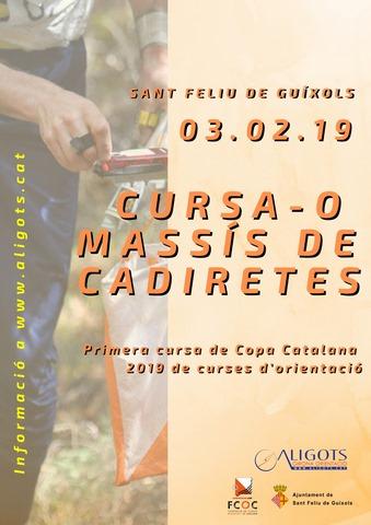 1a cursa de Copa Catalana a Peu al Massís de les Cadiretes