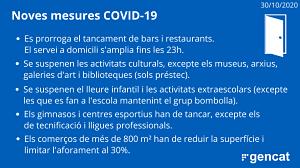 Noves restriccions en la pràctica esportiva